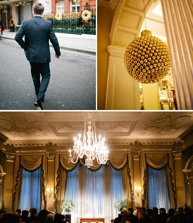 Claridge's Wedding Photography | Selmin & Toby | New Year's Eve