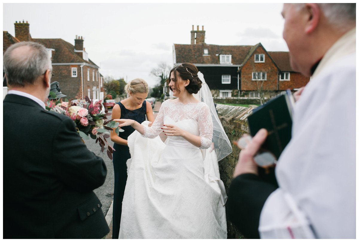 the george in rye wedding sassi holford dress