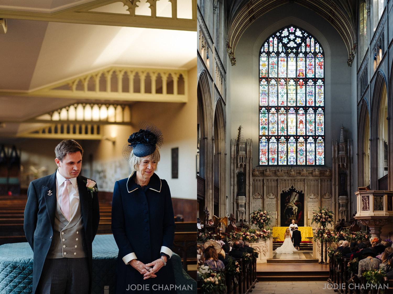 wedding at st lukes church chelsea london